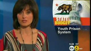 shut down youth prisons kcal news 9pm los angeles