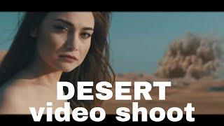 Desert Video Shoot | English song