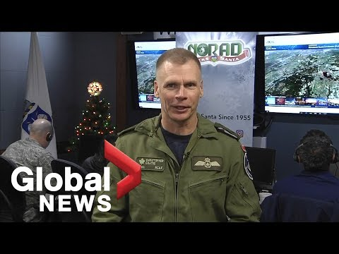 How NORAD tracks Santa Claus