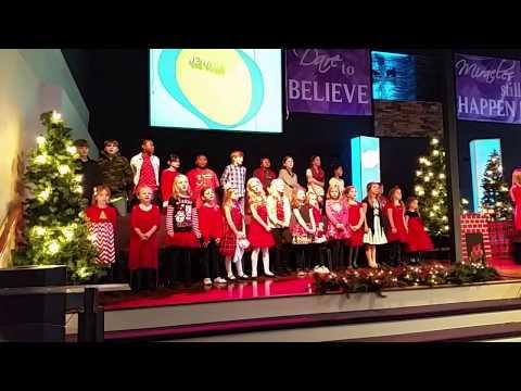 PGA Kids 'We Wish You a Merry Christmas'