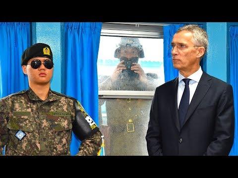 NATO Secretary General at the Demilitarized Zone (DMZ) - 02 NOV 2017