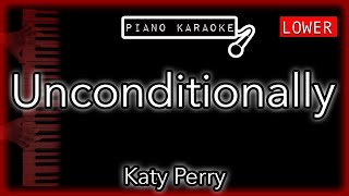"""Piano karaoke instrumental for """"unconditionally"""" by katy perry (3 semitones lower)you can now say thank you and buy me a coffee! ☕️it will allow to keep b..."""