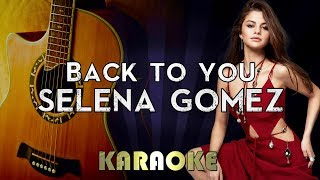 """Official megakaraokesongs karaoke instrumental cover of """"back to you"""" by selena gomez. 