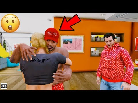 FRANKLIN CAUGHT CHEATING WITH TRACY! (GTA 5 Mods)