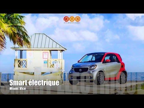 Nouvelle Smart Electric Drive 2017 : 2 petits observateurs à Miami - Essai