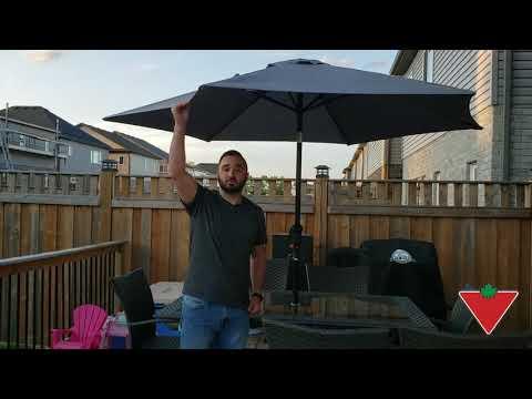 My Product Review: Canvas Market Umbrella