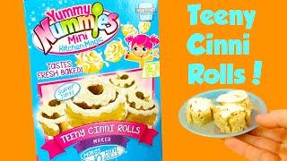 Yummy Nummies Teeny Cinni Rolls Make Cinnamon Rolls Taste Test!