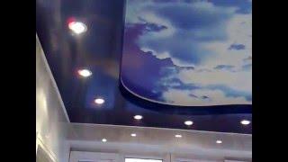Потолочные светильники - вариант дизайна(Сайт: http://potolki-arafat.ru/ Тел.: 8(964)005-30-60 Подписывайтесь на наш канал! В данном видео Вы увидите вариант освещения..., 2016-04-01T12:13:41.000Z)