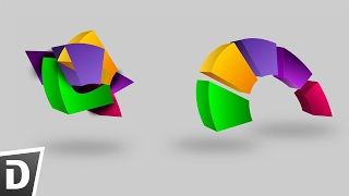 How to Create 3d looking object  - Inkscape Tutorial