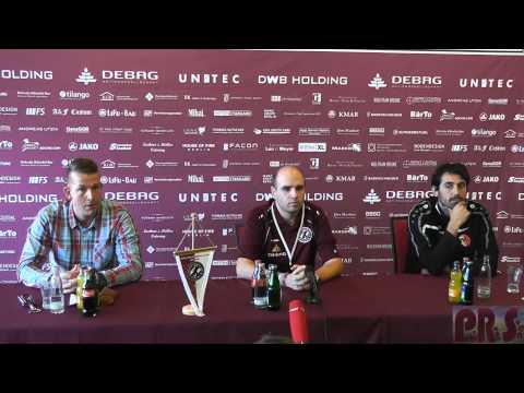 12.Spieltag BFC Dynamo-Berliner AK 07 Pressekonferenz vom 2.11.2014 in Full HD