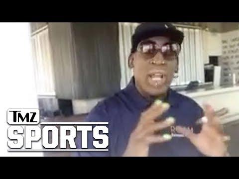Dennis Rodman Says Michael Jordan Turned Down Kim Jong Un Invite | TMZ Sports