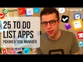 25 to-do list apps: Choosing the perfect task manager