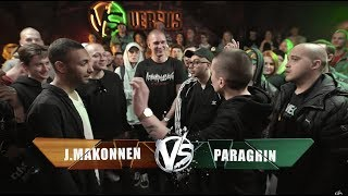 VERSUS: FRESH BLOOD 4 (J.Makonnen VS Paragrin) Round 1