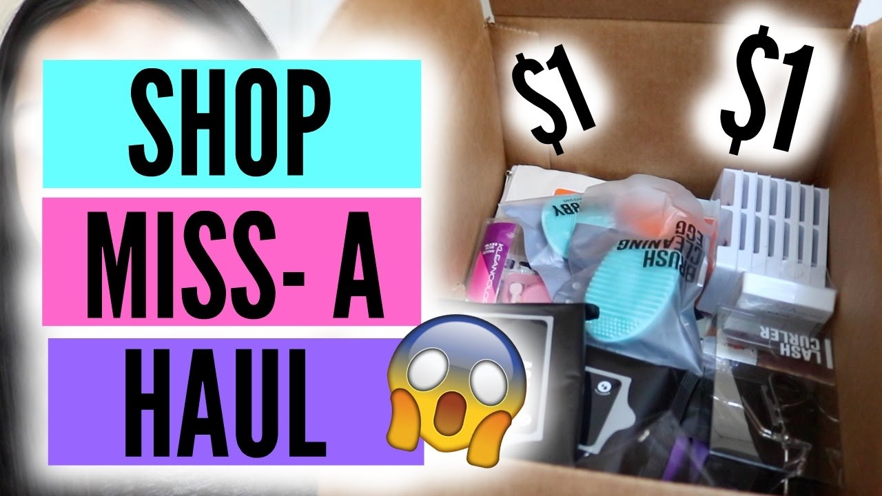 Everything $1! Shop Miss-A Haul | 2017