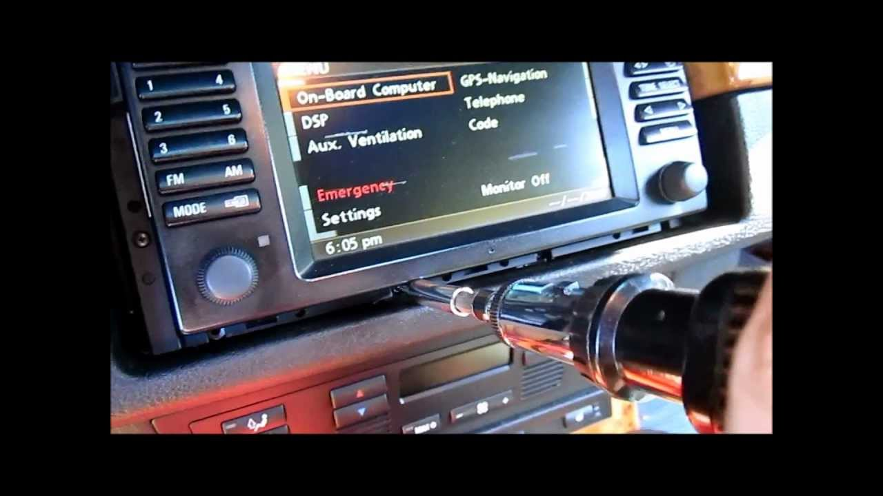 bmw e53 x5 navigation lcd screen replacement diy youtube rh youtube com BMW X5 Navigation DVD 2005 BMW X5