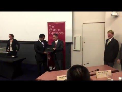 Wharton Graduation Ceremony