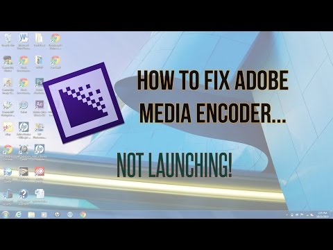 How to Fix Adobe Media Encoder Not Launching!
