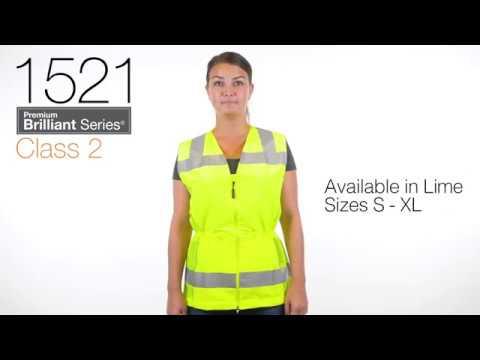Orange 5X-Large ML Kishigo 1077 Ultra-Cool Polyester Mesh Reflexite Vest