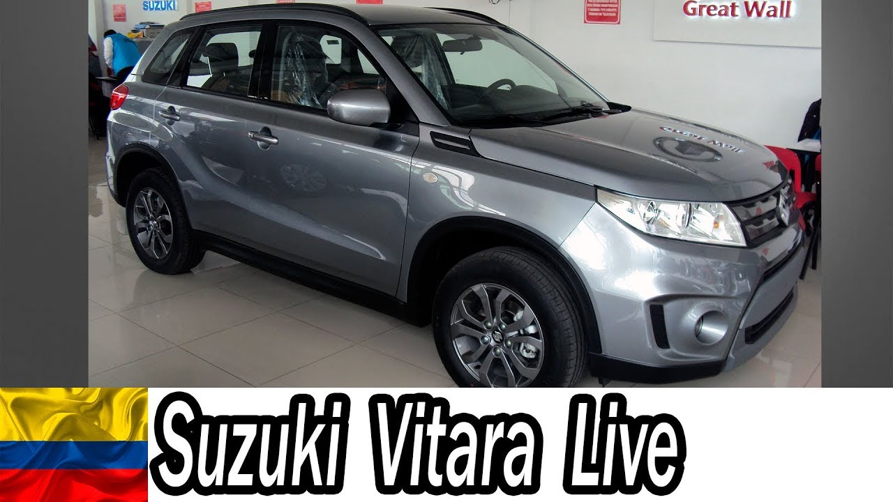 suzuki vitara live 2019 4x4 japonesa colombia youtucars youtube. Black Bedroom Furniture Sets. Home Design Ideas