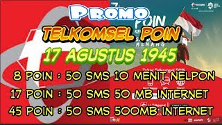 Download Video Update Promo telkomsel poin 17 agustus 2018 kemerdekaan indonesia MP3 3GP MP4