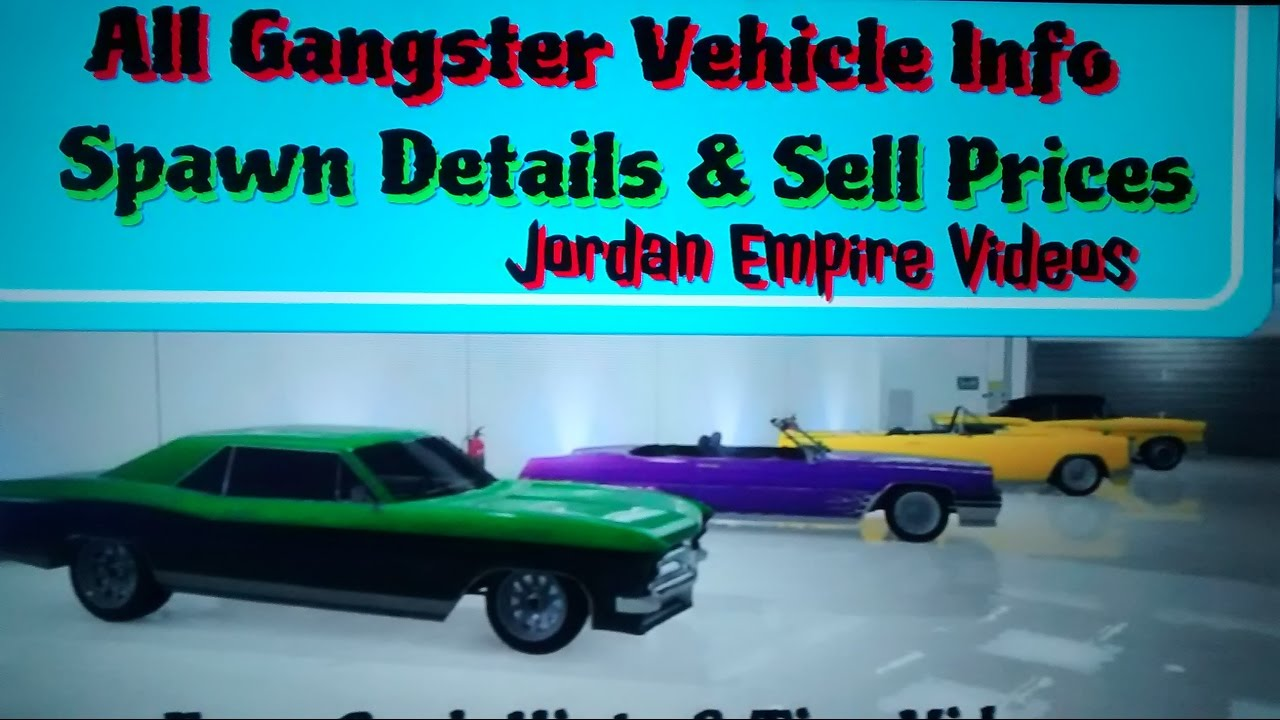 Sell Car Prices Gta Online