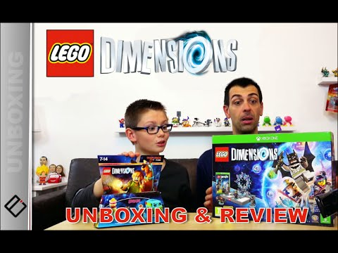 MEGA UNBOXING ! LEGO Dimensions Gameplay | Family Geek