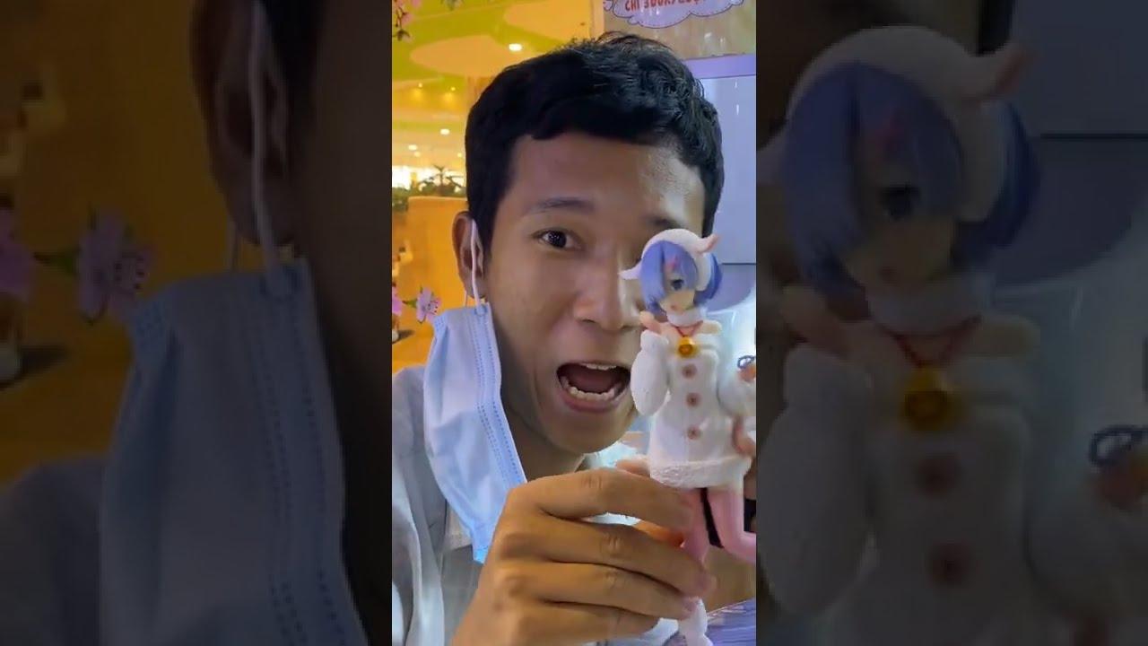 Lâm Vlog Tiếp Tục Chơi Mở Gacha 300k Siêu Đắt Trúng Figure Anime!? | #Shorts