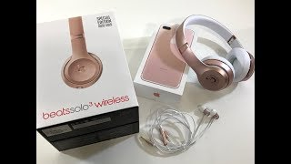 beats Solo3 Wireless Unboxing - Rose Gold Special Edition