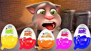 talking tom cat tom cat and friends series interesting meal fun video for kids episodes 43