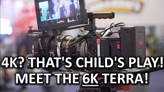 """Affordable"" 6K Camera?! - Kinefinity Booth"