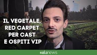 Il Vegetale, red carpet per cast e ospiti vip