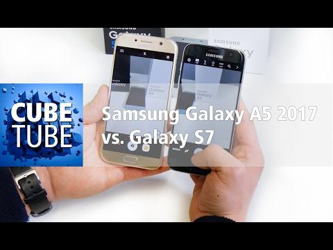 Samsung Galaxy A5 2017 Vs Galaxy S7 Vergleich (deutsch HD)