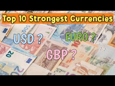 Top 10 Strongest Currencies In World || US Dollar , Pound Sterling Etc || Languazer