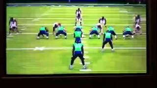 Marshawn Lynch Beas Mode Run on Madden 25