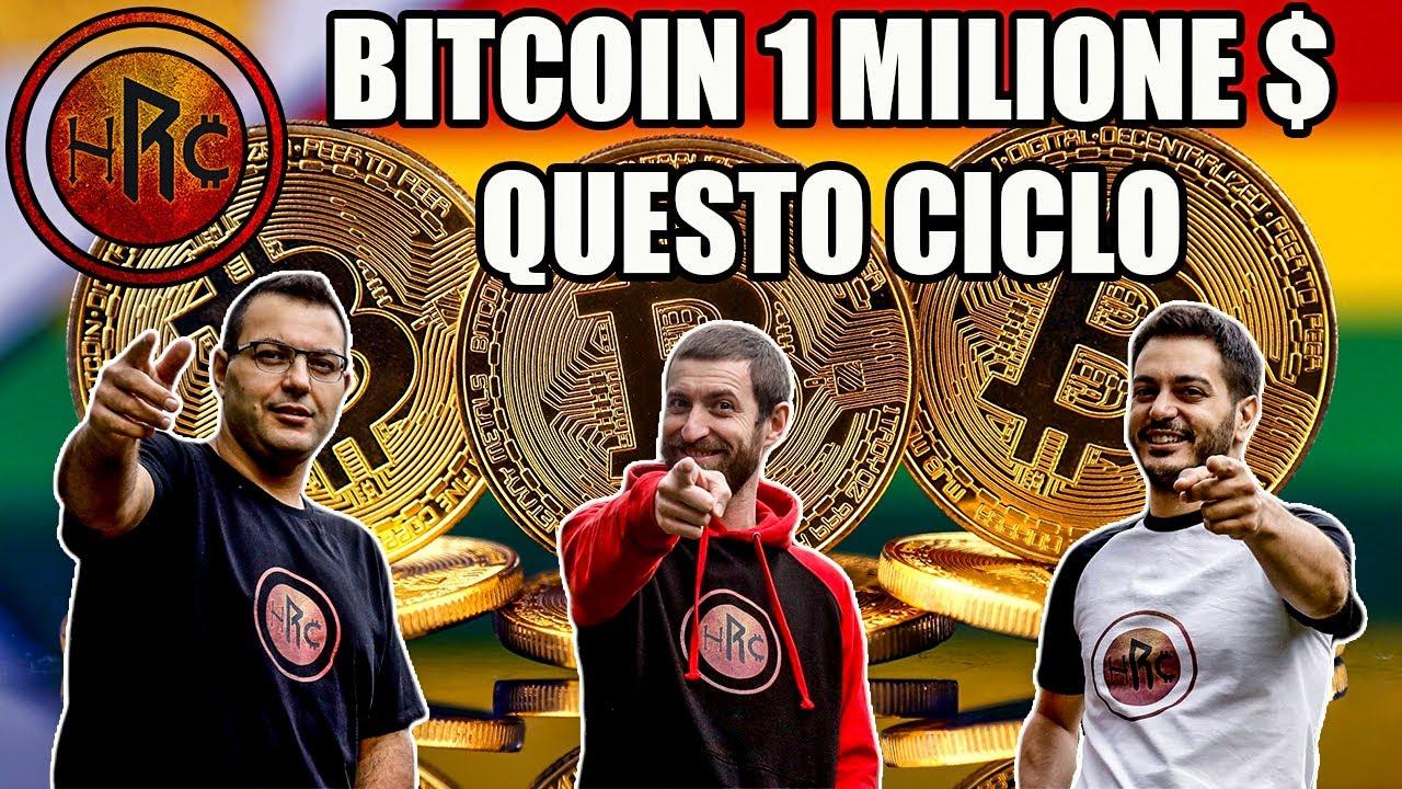 bitcoin 1 milione di dollari)