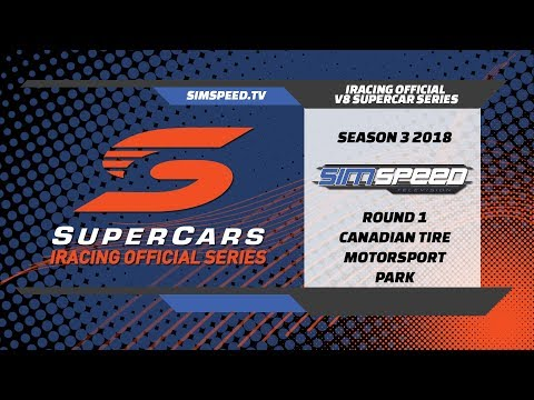 iRacing Official V8 Supercar Series     Round 1     Mosport