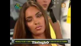 Esto Es Guerra 18-02-13 Natalie Vertiz molesta con Michelle Soifer y Gino 18/02/13