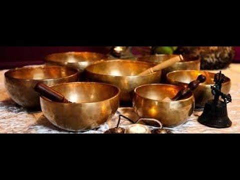 Тибетские поющие чаши муладхара