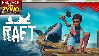 Raft - budowanie domu na tratwie :) - Na żywo