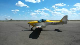 Маленький самолёт B&F Technik FK 14 Polaris . Гражданская авиация.