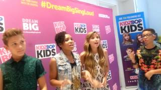 KidzBop kids sing for me at Blogger Bash NYC