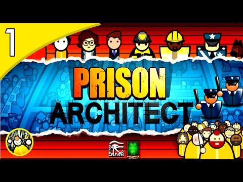 Prison Architect - COMO FAZER UMA PRISÃO FUNCIONAL!!! #1( GAMEPLAY / PC / PTBR PORTUGUÊS ) HD