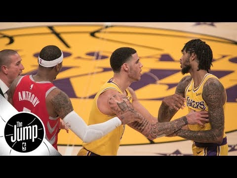 Did Brandon Ingram get off easy for Lakers vs Rockets brawl? | The Jump