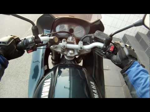 Push starting Yamaha XJ 600 S Diversion