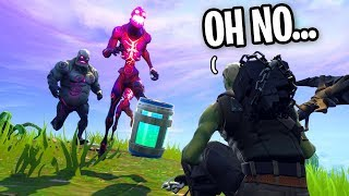 I Won A Solo Fortnite Game Using ONLY ZOMBIE LOOT...