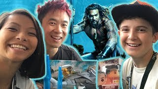 Aquaman Makes a Splash at San Diego Comic-Con! | DC Kids