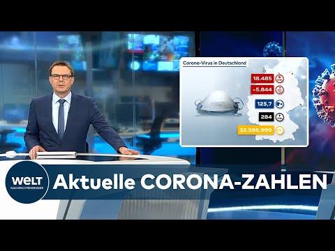 AKTUELLE CORONA-ZAHLEN: 18.485 COVID-19-Neuinfektionen in Deutschland