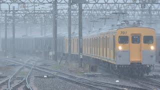 相鉄21000系21102F甲種輸送 かしわ台駅到着