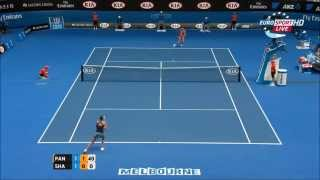 2R Sharapova vs Panova (Australian Open 2015) Higlights Thumbnail