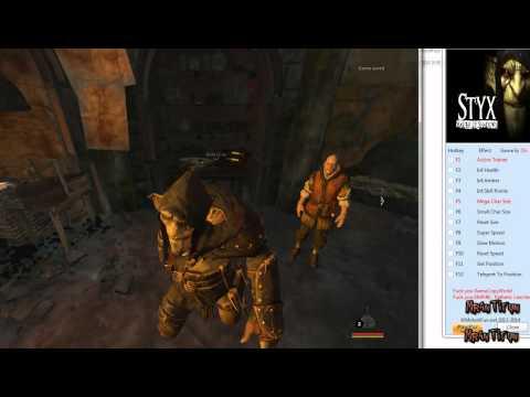 Styx Master of Shadows V1.00 Trainer +8